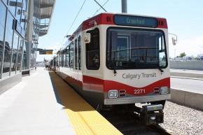 Calgary LRT SD 160NG by Siemens - Duwag