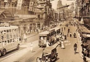 上海30年代初的南京路