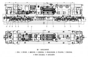 CKD9B型机车总体布局