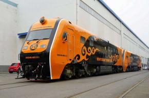 CKD4B型内燃机车出口蒙古